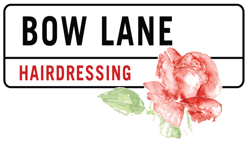 bow lane logo with rose