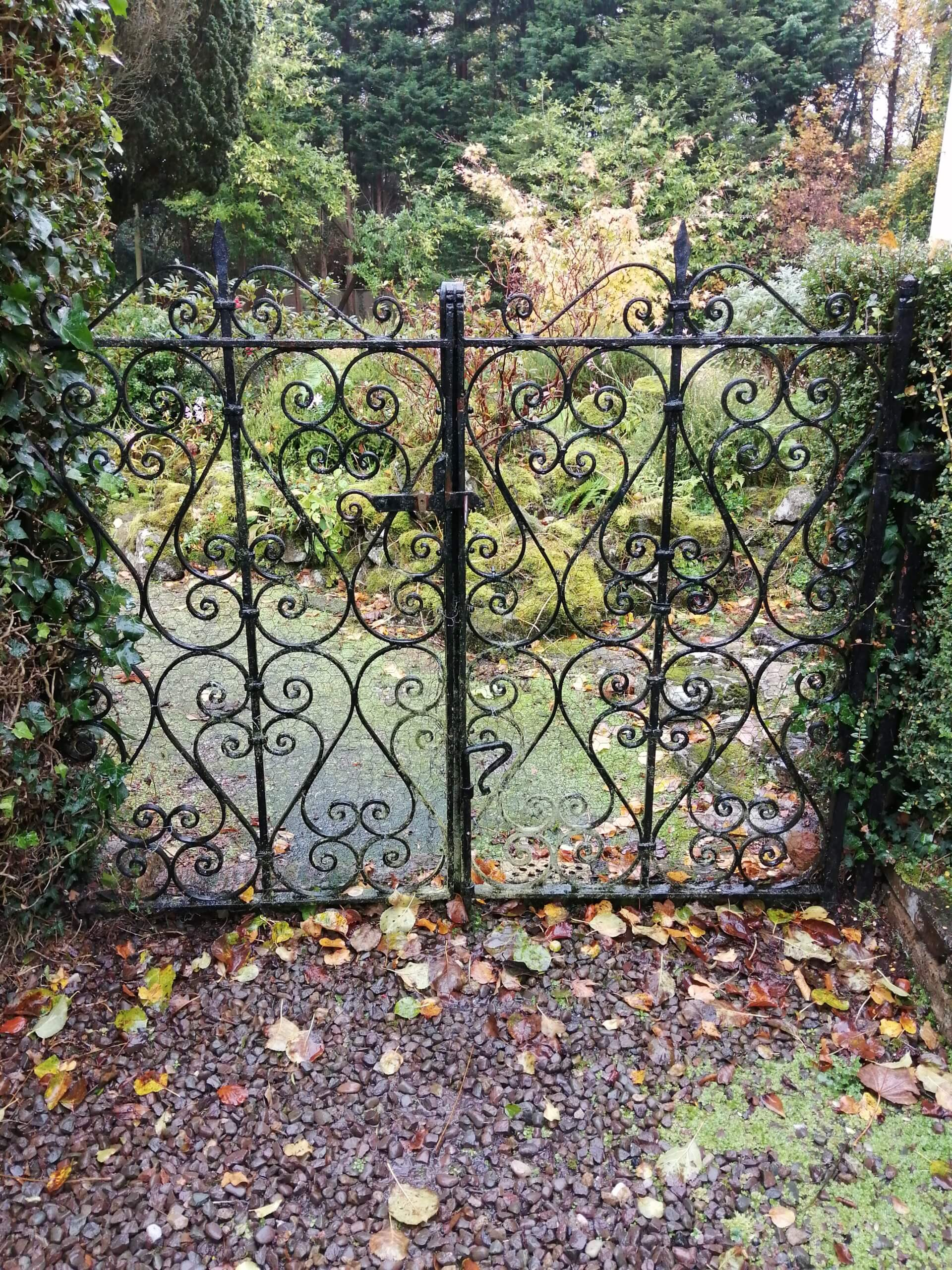 Hidden Huntley gates