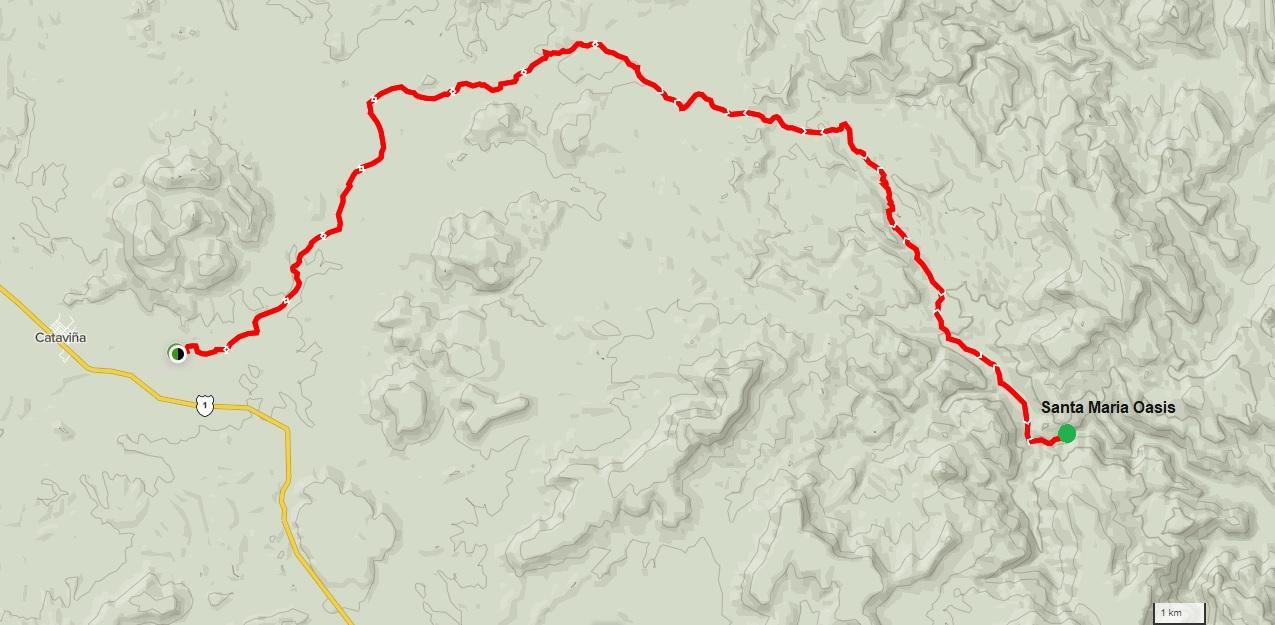 Santa Maria Oasis – Cataviña Trail