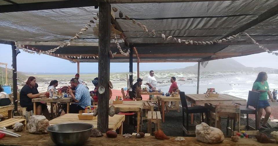 Seafood Village at La Chorera, San Quintin, Baja California Mexico