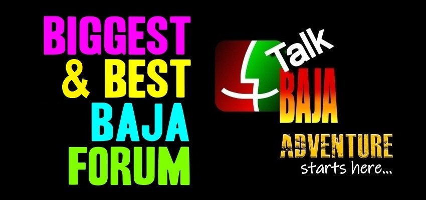 Talk Baja Forum Group on Facebook