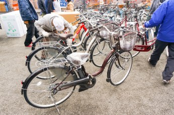サイクルネットワーク様よりご寄贈いただいた自転車