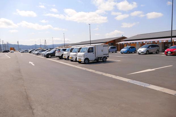 大型無料駐車場