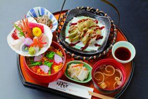 今週のイチ丼!「創菜旬魚 はしもと」のキラキラ春つげ丼!