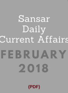 SansarCurrentAffairs_Feb2018