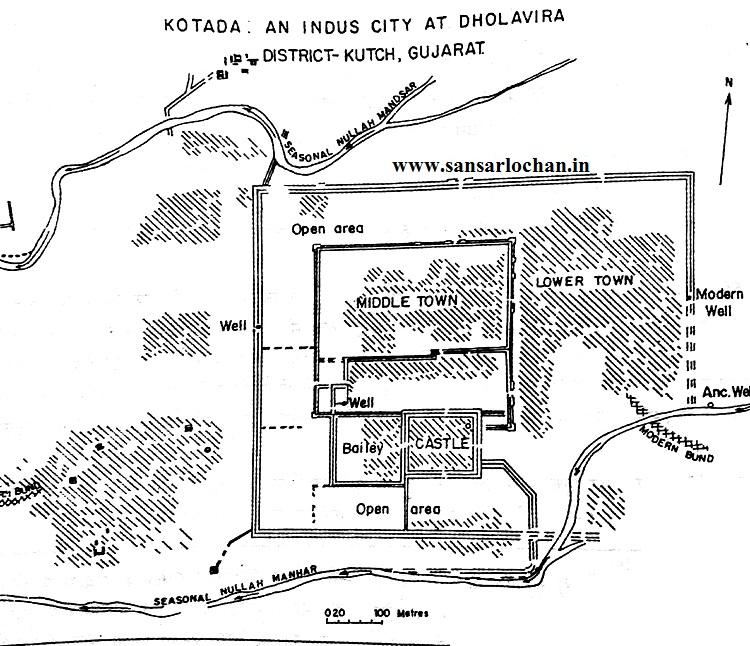 dholavira_map