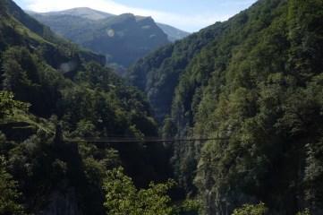 La pasarela de Holzarté