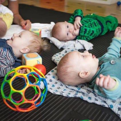 spæd børn motorik sanser mødegruppe