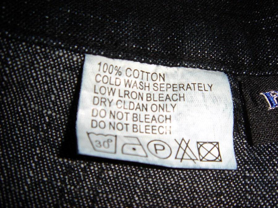 Etiquetas para roupas te ajudam a comprar o tecido correto