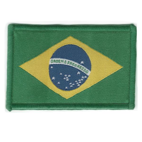 Etiqueta Bandeira do Brasil Grande | Sansil
