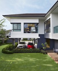 The L-Shape, The Shape of Privacy. New single house design ...