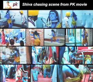 PK: Hindu bashing for Seculars on a comic platter