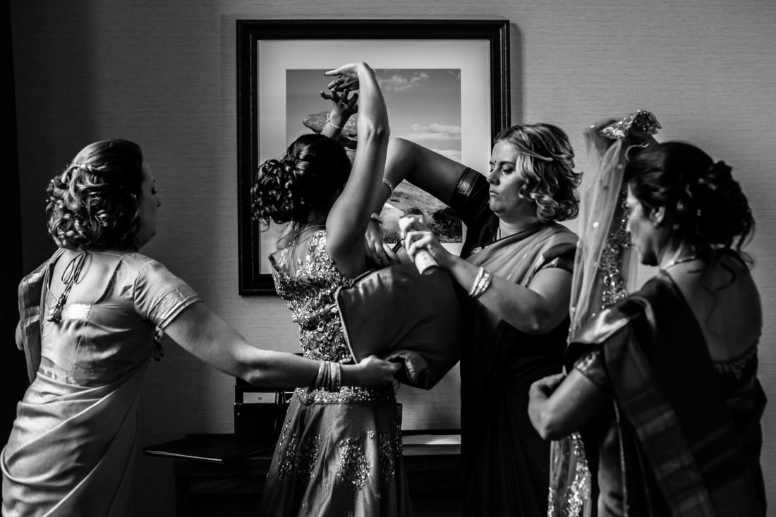 Mekhala & Gareth - Sansom Photography Barmbyfield Barns Wedding York-49