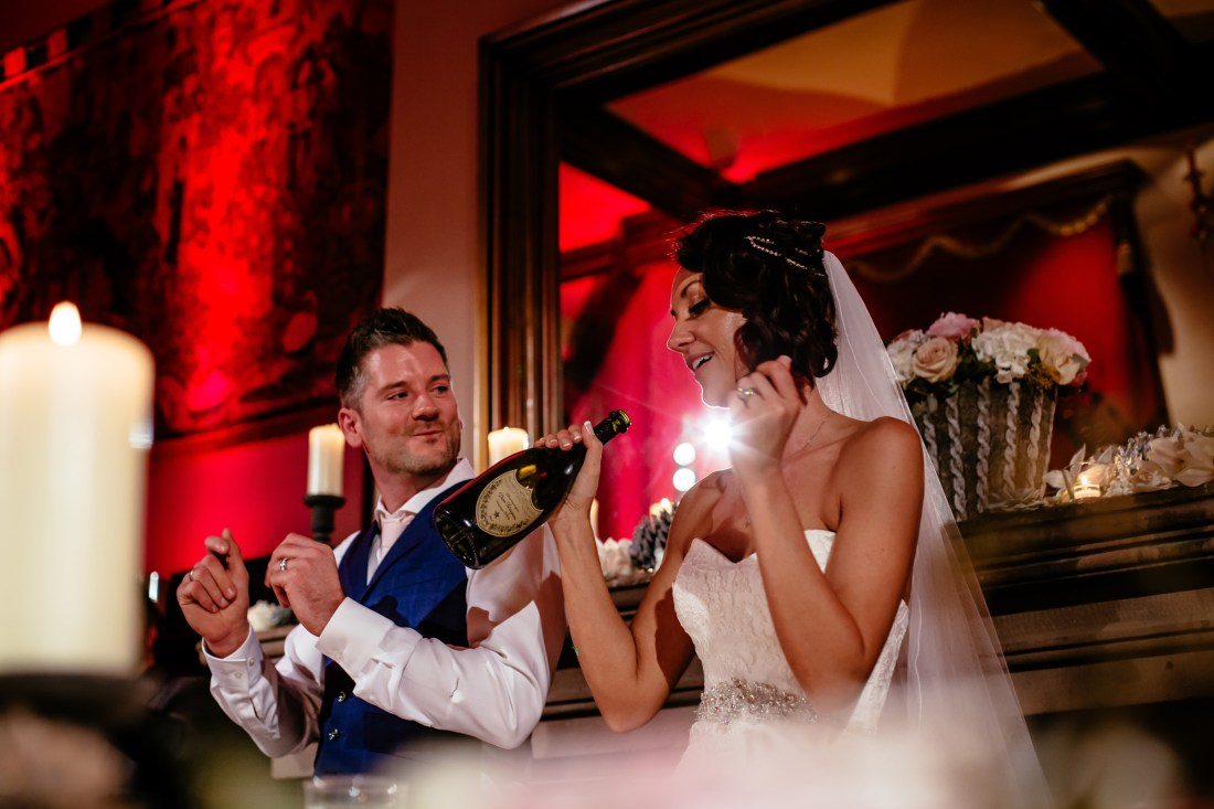 Ant & Louise NYE Peckforton Castle Wedding- Sansom Photography-109