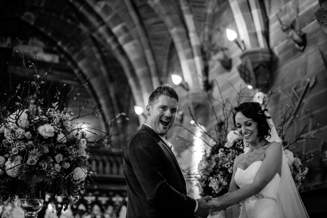 Ant & Louise NYE Peckforton Castle Wedding- Sansom Photography-17