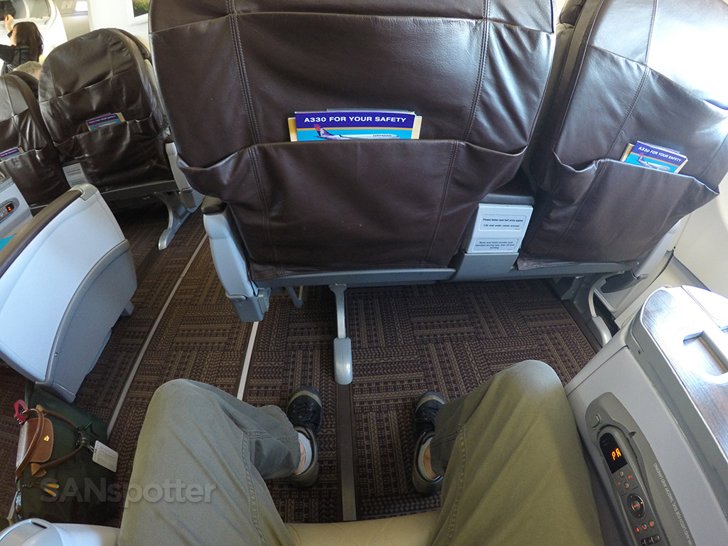 Hawaiian Airlines A330200 first class San Diego to