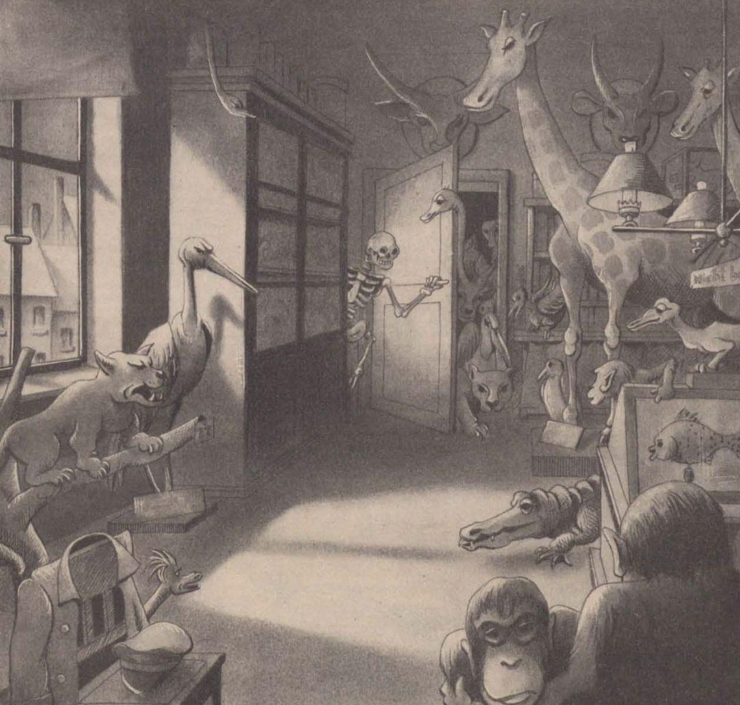 (1942) Im abendlichen Naturalienkabinett
