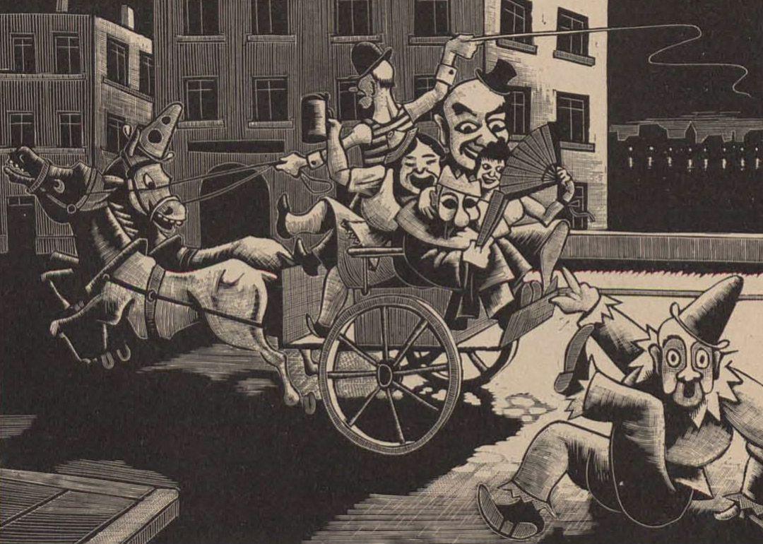 Persecucion en Carnaval (1934)