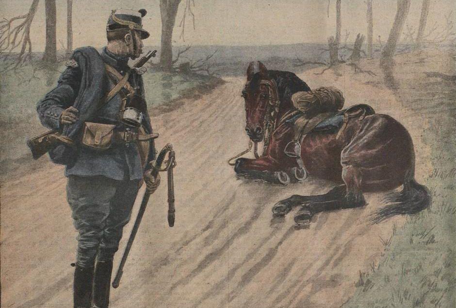 Los caballos y la Primera Guerra Mundial