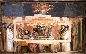 3.5. Giotto_di_Bondone_-_Scenes_from_the_Life_of_Saint_Francis_-_4._Death_and_Ascension_of_St_Francis_-_WGA09307 copia