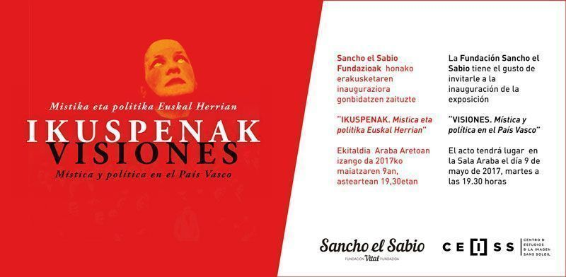 Inauguración exposición «VISIONES. Mística y política en el País Vasco»