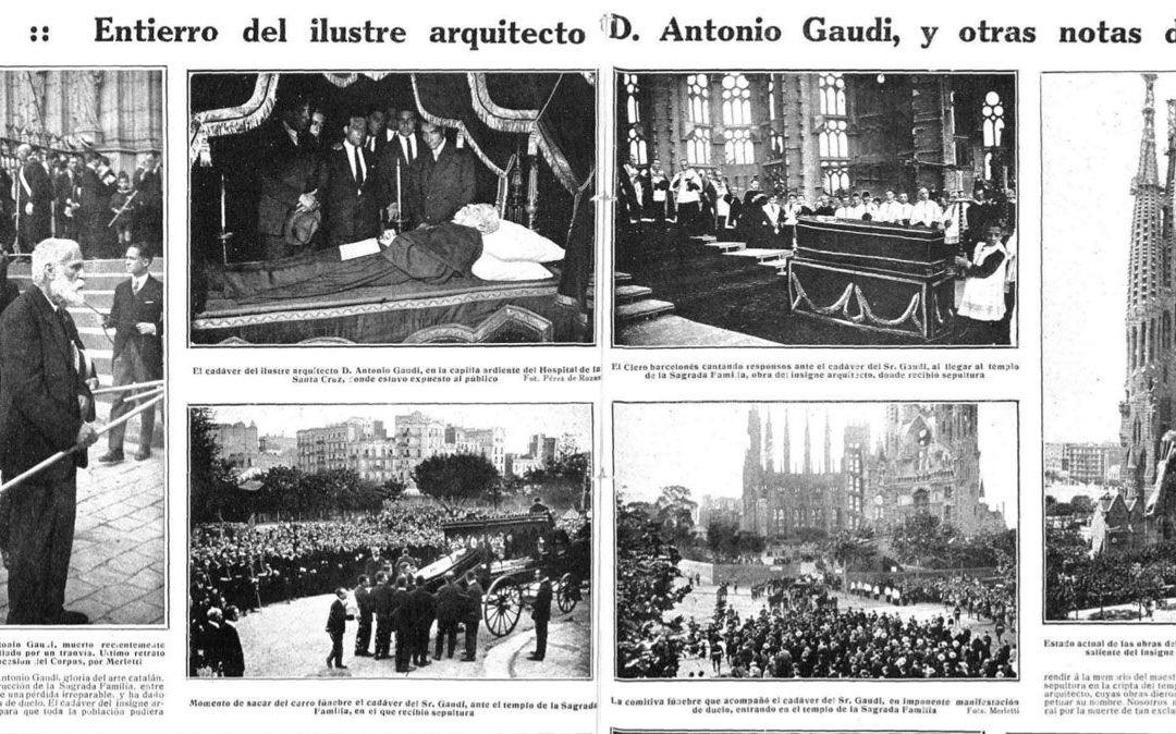 Los últimos días de Gaudí. Cartografía de un accidente mortal