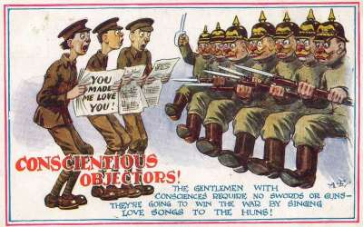 ¡No lo haré! La propaganda contra la objeción de conciencia en la Primera Guerra Mundial