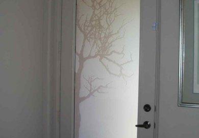 Bathroom Doors Glass Bathroom Door Frosted Obscure