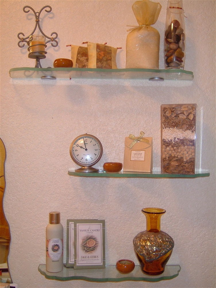 living room glass shelves country furniture ideas sans soucie art etched wall shelf