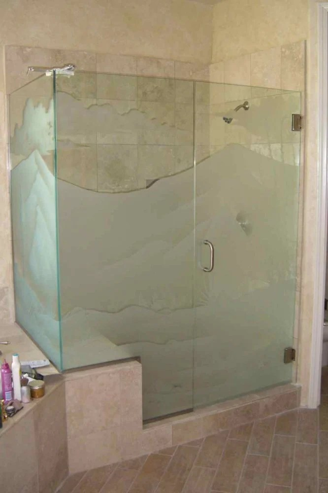 etched glass showers  Page 2 of 2  Sans Soucie Art Glass