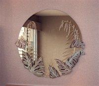 etched glass mirrors - Sans Soucie Art Glass