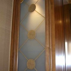 Frosted Glass Kitchen Cabinet Doors Rug For Under Table Etched Cabinets - Sans Soucie Art