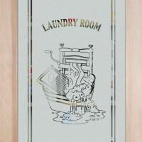 laundry room door - Sans Soucie Art Glass