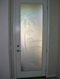 etched glass panels - Sans Soucie Art Glass