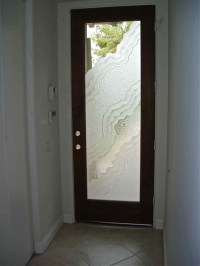 Etched Glass Doors - 3D Carved Metamorphosis Design by ...