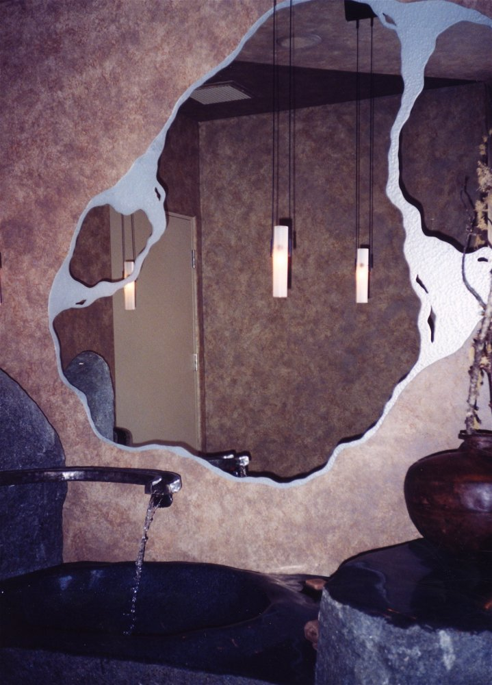 Decorative Mirrors With Custom Etched Amp Carved Designs