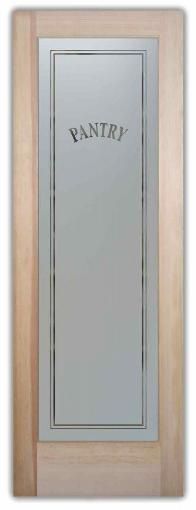 Pantry Doors with Glass that YOU Design  Sans Soucie Art