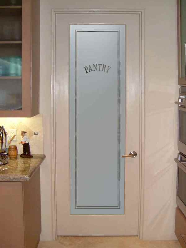 Kitchen Pantry Cabinet With Glass Doors Vtwctr