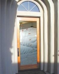etched glass door - Sans Soucie Art Glass