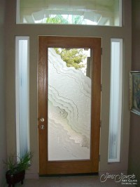 frosted glass entry doors - Sans Soucie Art Glass