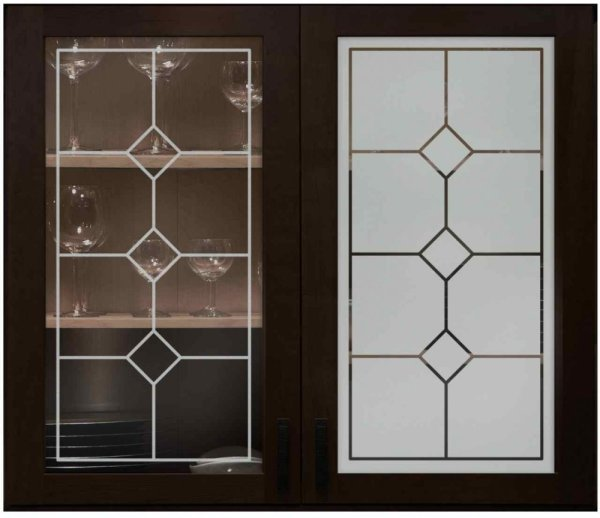 Etched Glass Kitchen Doors Vtwctr