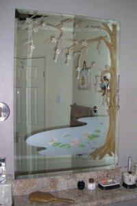 Cherry Blossom Tree Decorative Mirrors Sans Soucie