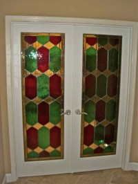 Camelot Stained Glass Door Inserts Sans Soucie