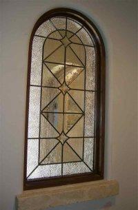 Acute Angles Glass Window Beveled Glass Modern Design