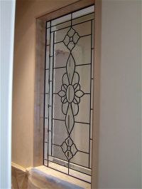 Leaded Rosette Glass Window Stained Glass French Decor