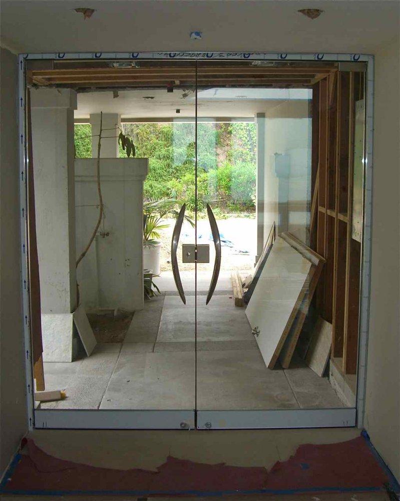 Frameless Glass Doors Exterior