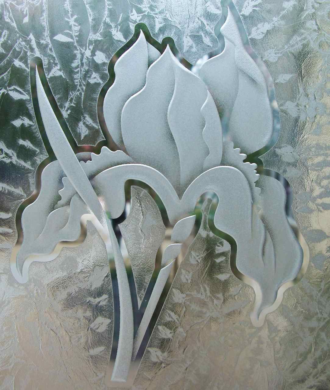 Stained Glass Effect by Sans Soucie Art Glass
