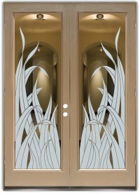 Glass Entry Doors - Stylish Glass Etching in Any Decor
