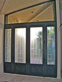 Breathtaking Etched Glass Windows! - Sans Soucie Art Glass