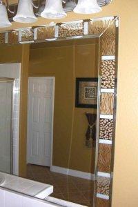 Bathroom Mirrors - Sans Soucie Art Glass